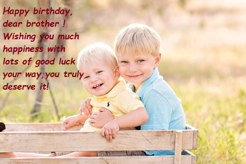 Happy Birthday Best Wishes Images For Brother