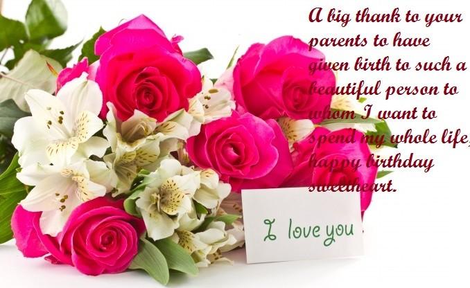 Happy Birthday Quotes For Love
