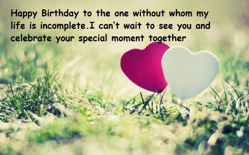 Happy Birthday Romantic Wishes For Love