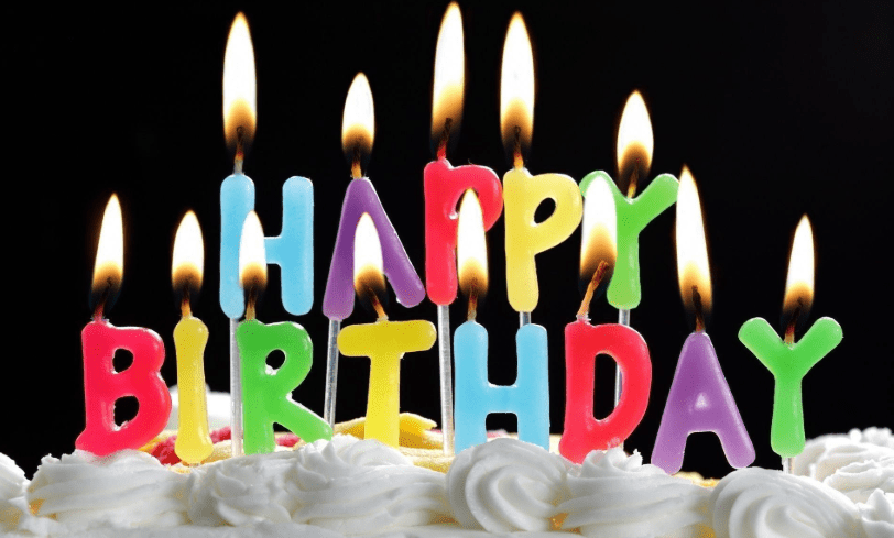 Happy Birthday Wishes With Cake Clipart