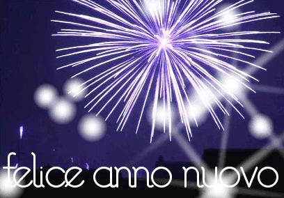 Happy New Year 2019 in Italian