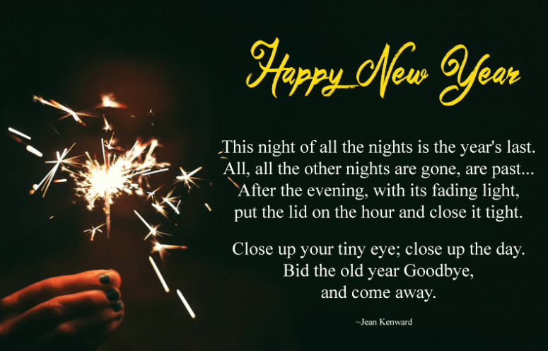 Happy New Year Eve Poems