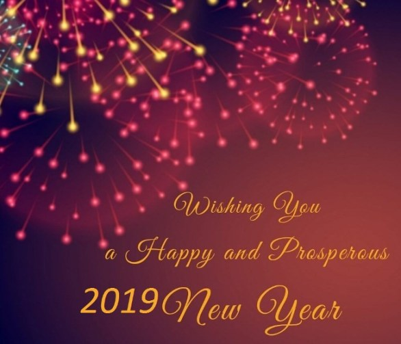 Happy New Year Greetings by Name 2019