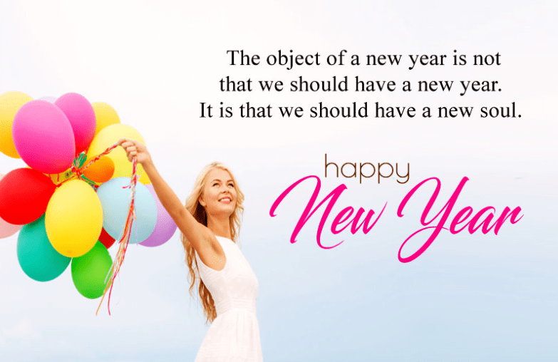Happy New Year Thoughts Sayings Pics