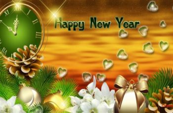 Happy New Year Wallpaper Beautiful 2020 to Celebrate With Love