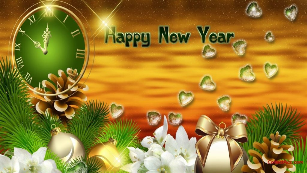 Happy New Year Wallpaper Beautiful 2019 To Celebrate With Love