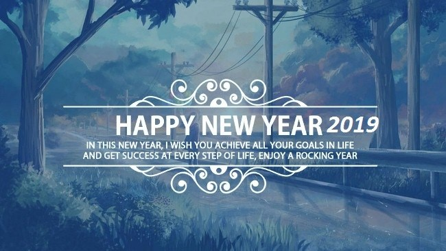 Happy New Year Wishes Brother 2019 Download to Wish