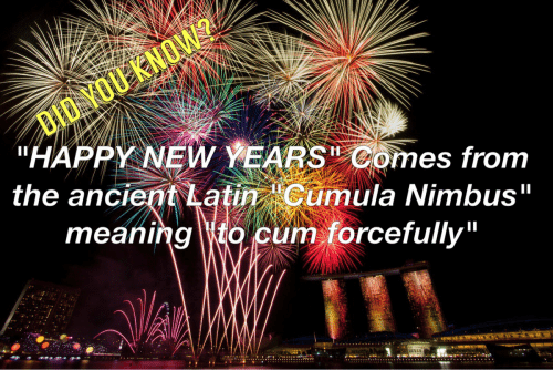 Happy New Year in Latin