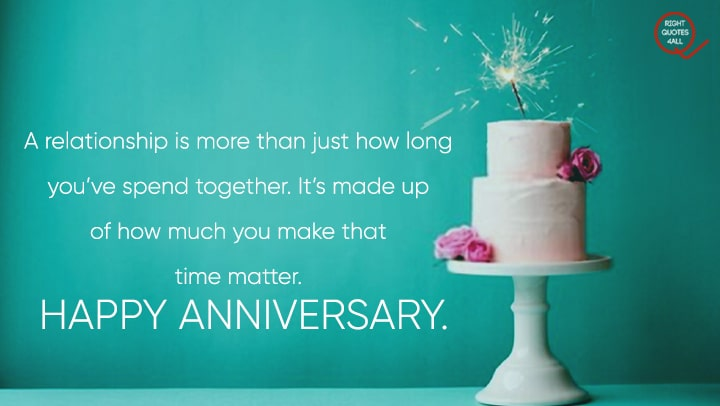 Marriage Anniversary Beautiful Cake Wishes Sayings