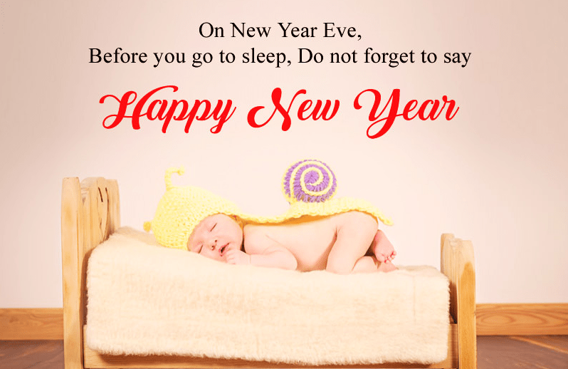 Hilarious Baby New Year Picture for 2019