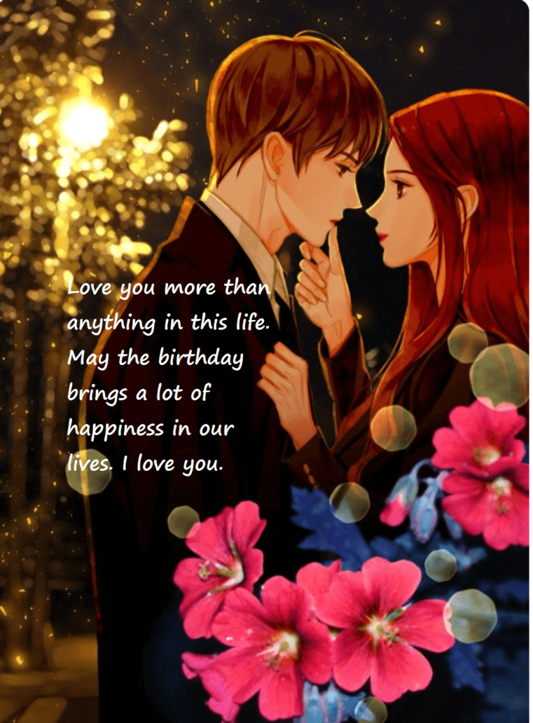 Love Birthday Wishes For Hubby