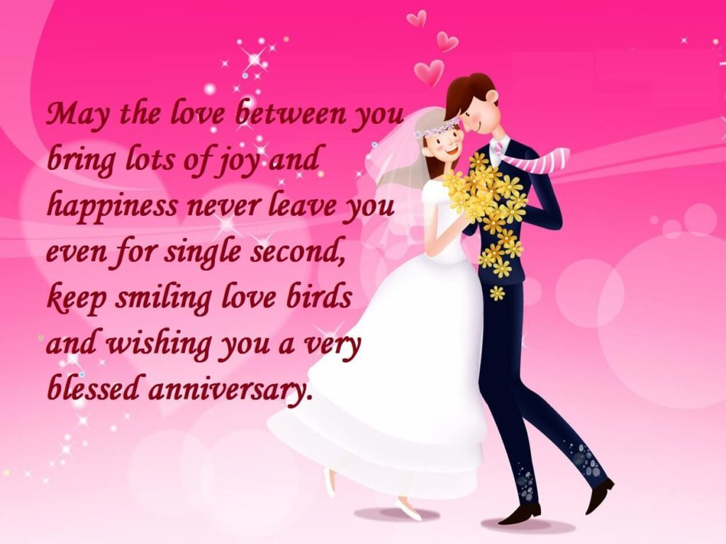 Marriage Anniversary Messages In English