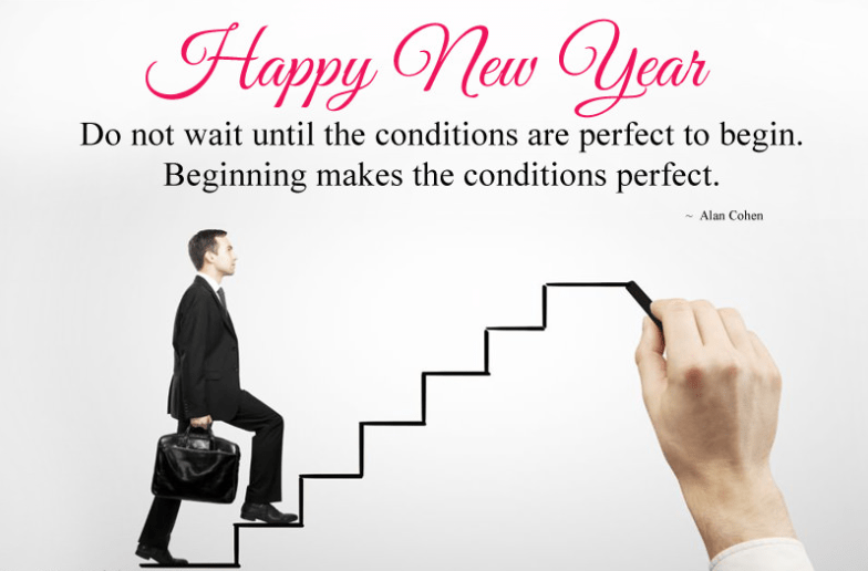 Motivational New Year Quotes and Sayings