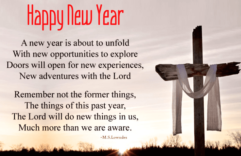 Religious Christian New Year Poems for 2019