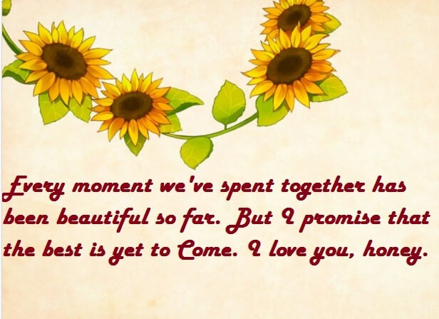 Romantic I Love You Wishes For Wife