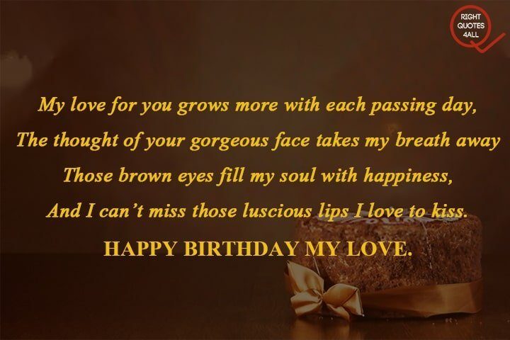 sweet bday messages quotes