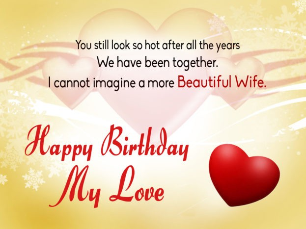 Beautiful Birthday Greeting Cards For Wife