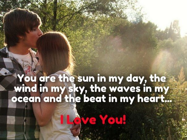 Cute & Romantic Love Quotes for Her