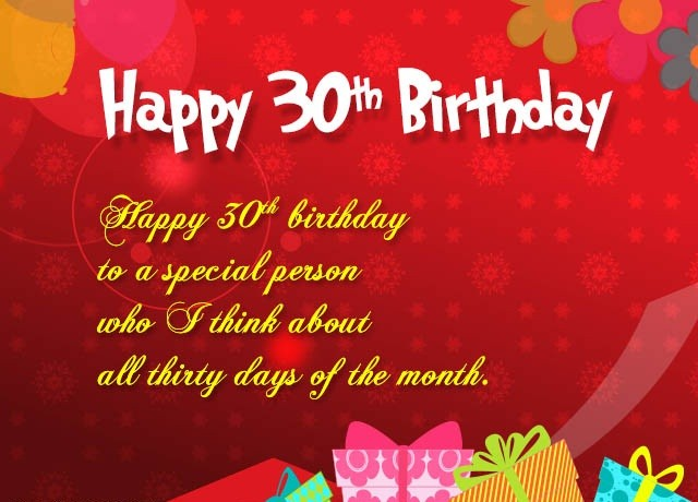 Wondrous Happy 30Th Birthday Wishes For Husband Funny Birthday Cards Online Overcheapnameinfo