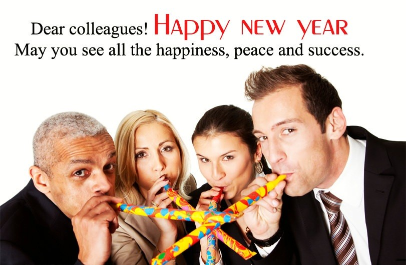 Happy New Year Messages For Office Colleagues