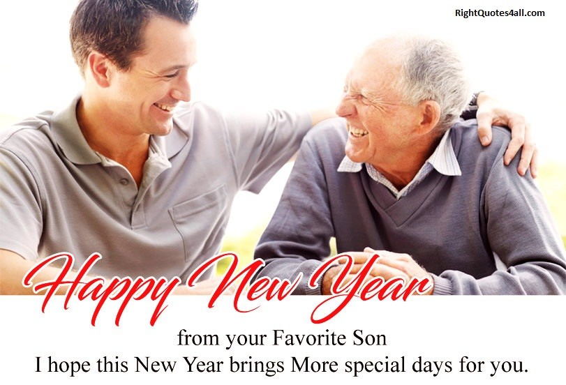 Happy New Year Quotes For Father In Law