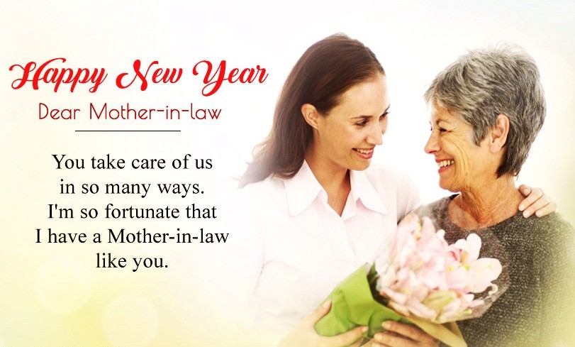 Happy New Year Quotes For Mother-in-Law