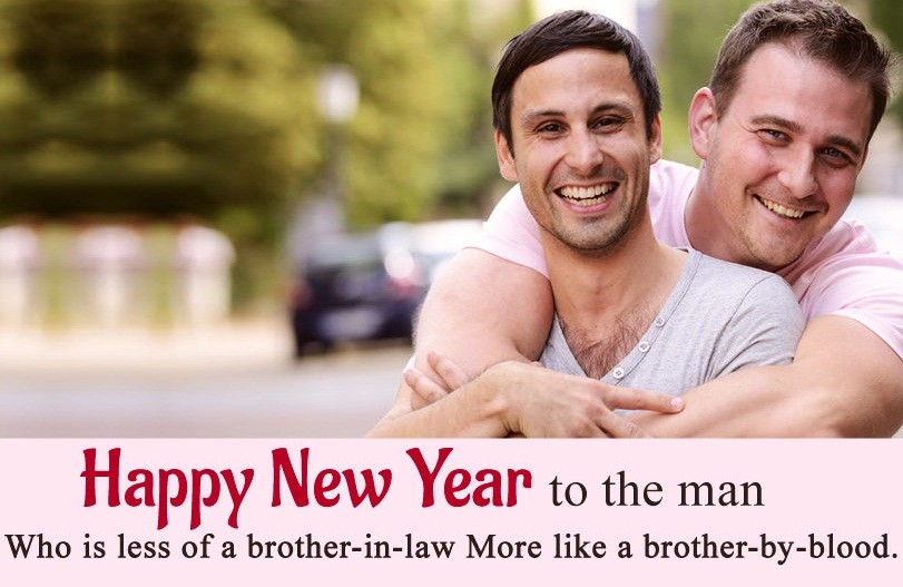 Happy New Year Wishes For Brother in Law