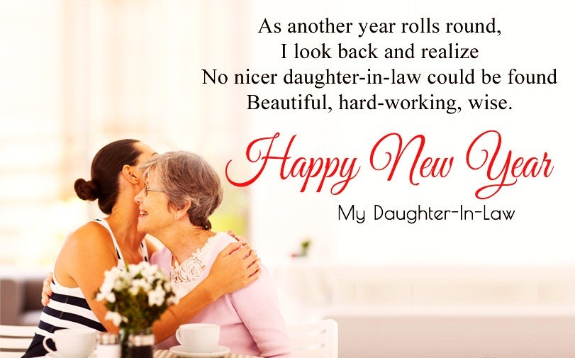 Happy New Year Wishes For Daughter-in-Law