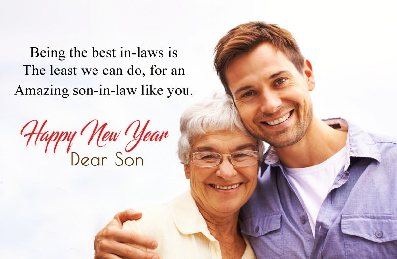 Happy New Year Wishes For Son-in-Law