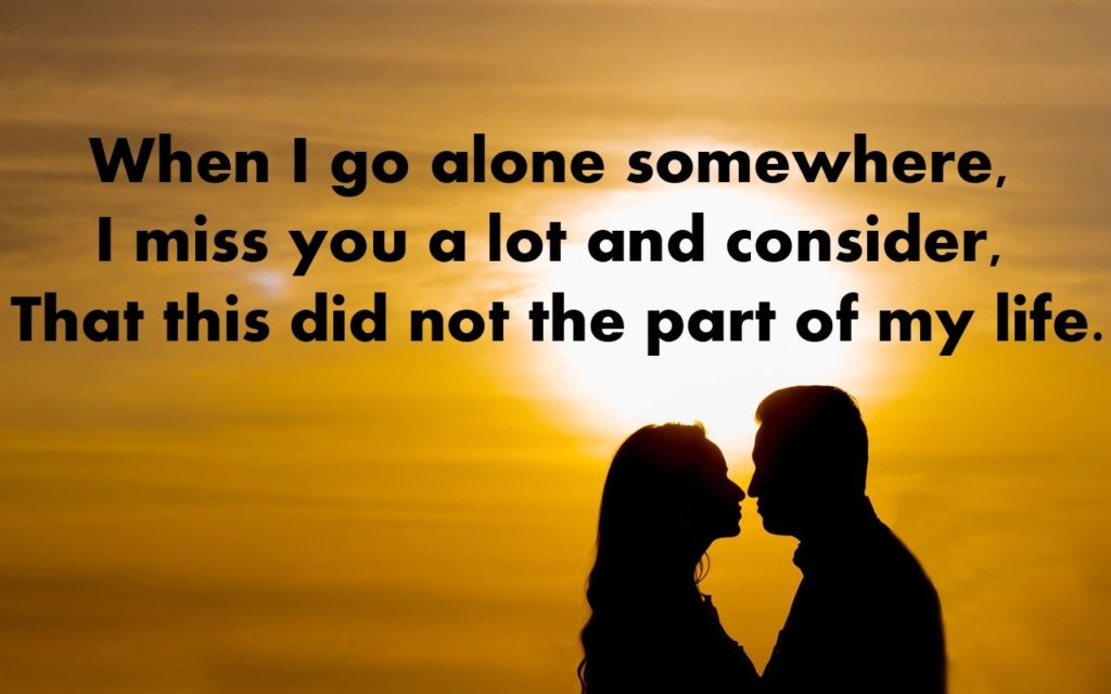 Missing Love Quotes For Husband