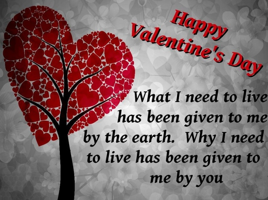 Happy Valentines Day Quotes, Wishing With Images