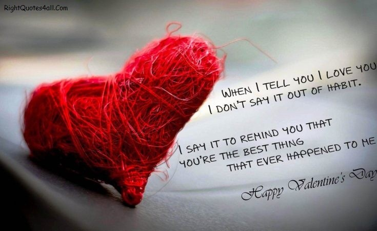 Best Special Happy Valentines Day Quotes