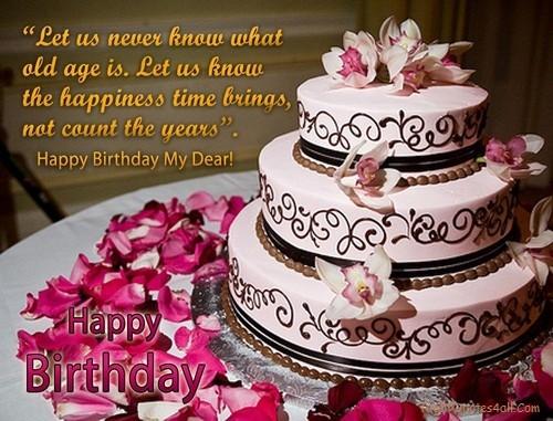Cute Birthday Cake Wishes For Boyfriend