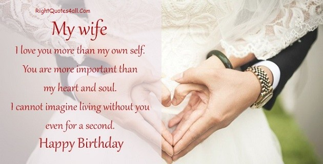 Happy Birthday For Wife