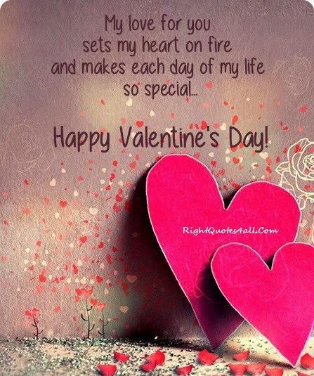 Romantic Valentines Day Greetings