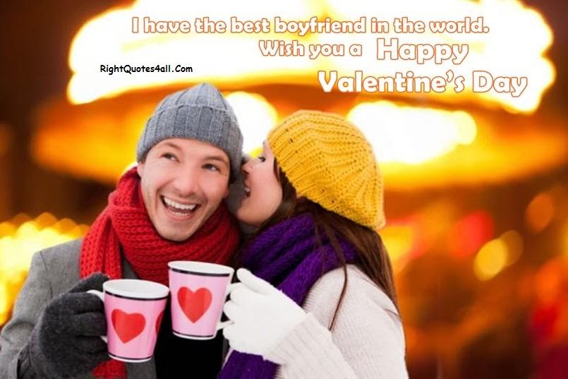 Valentines Day Greetings Boyfriend
