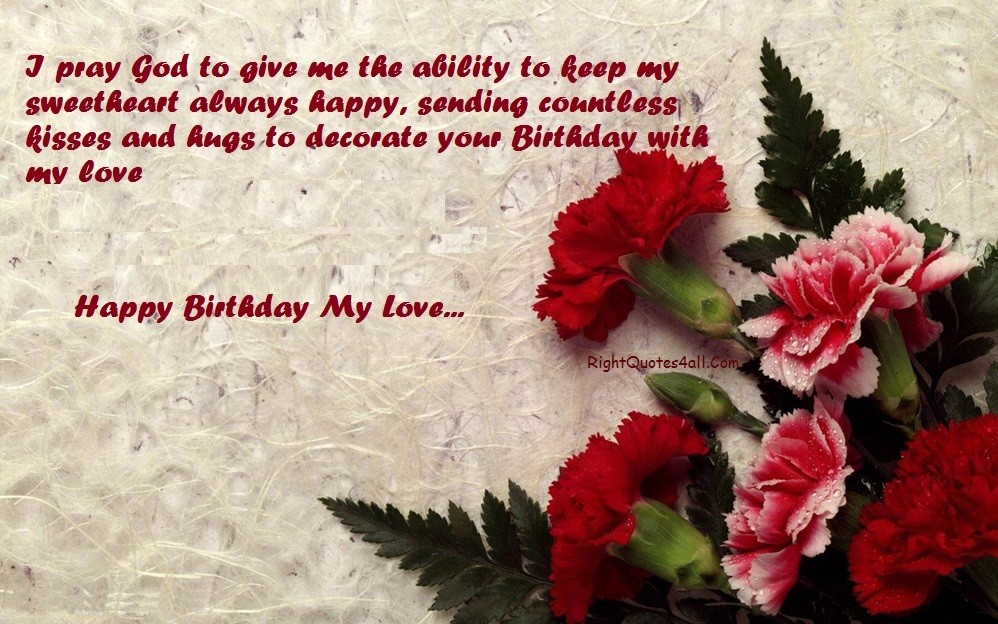 Birthday Love Quotes For Her