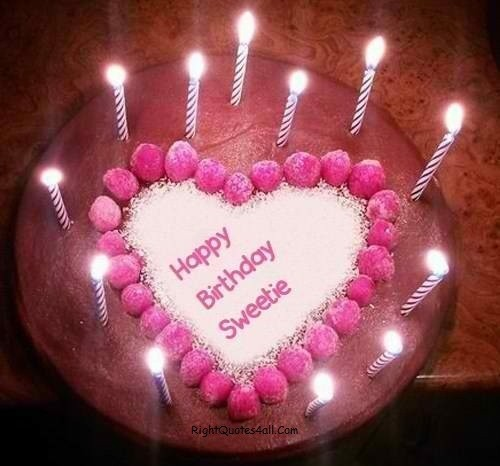 Happy Birthday Wishes For Cutie pie