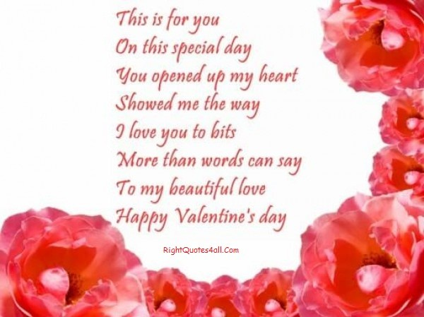 Loving Valentines Day Greetings