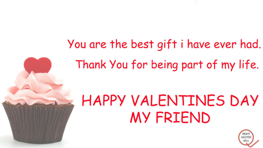 happy valentine day friend