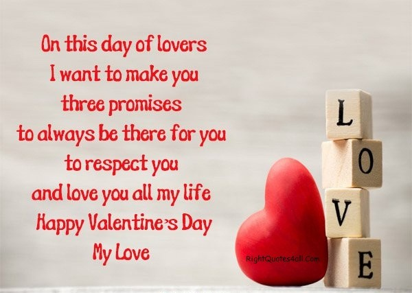 Happy Valentines Day My Love Messages