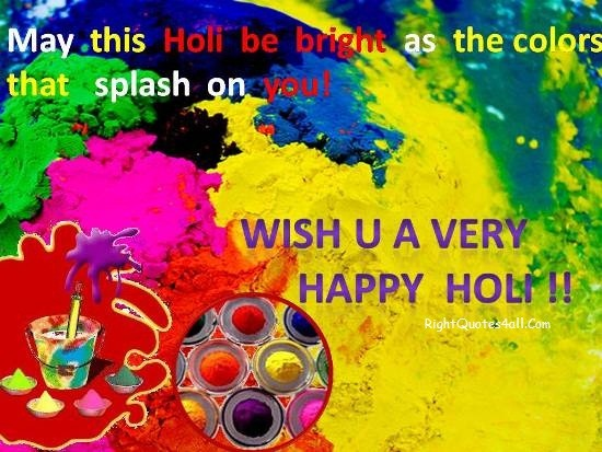Best Happy Holi Messages