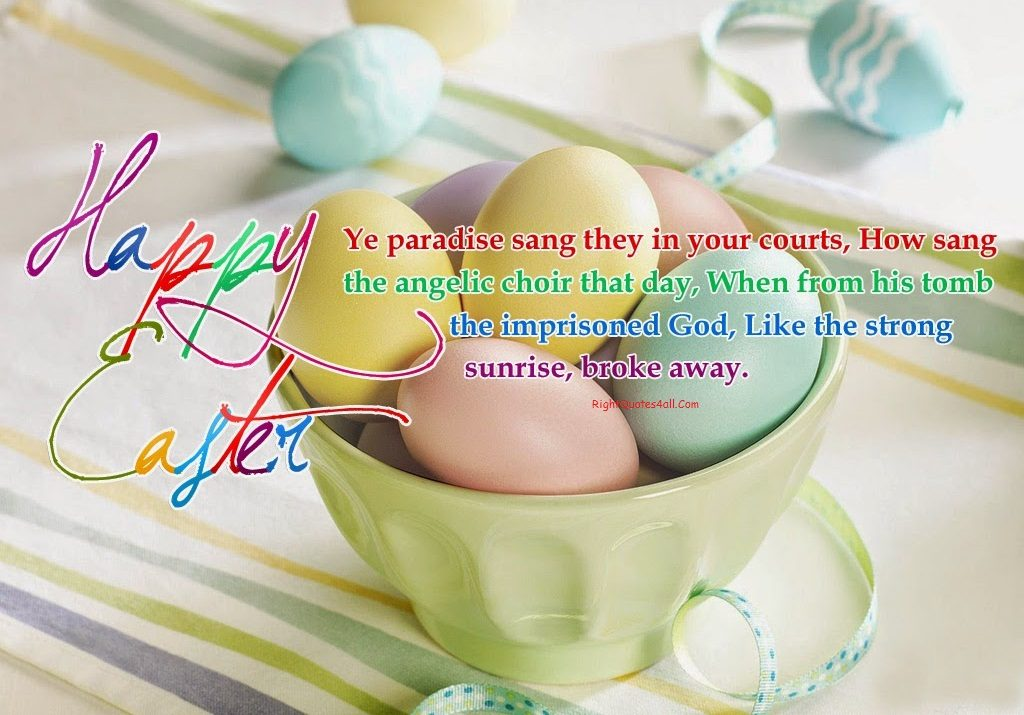 Easter 2019 Quotes for Loved Ones