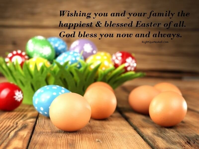 Happy Easter Quotes And Wishing For Your Love %