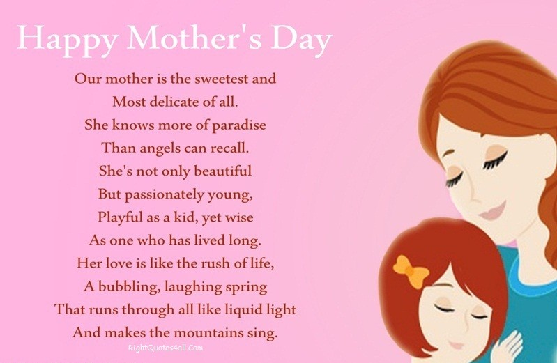 Happy Mothers Day Wishes Poems Messages Prayers