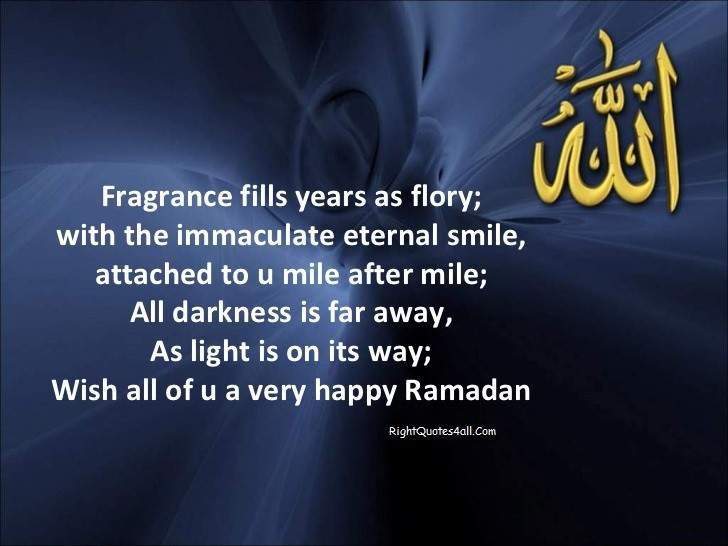 Happy Ramadan Quotes & Sayings