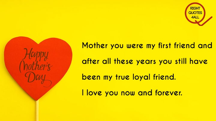 Heart Touching Mothers Day Wishes