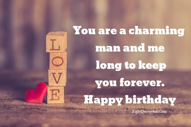 Heart Touching Birthday Wishes for Boyfriend