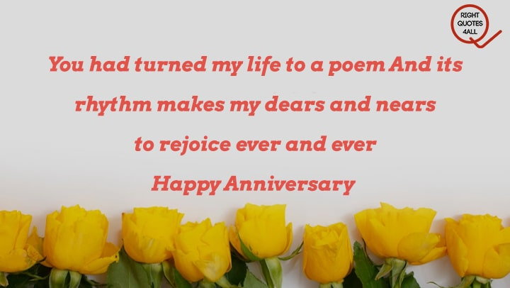 Anniversary Wishes To a Couple