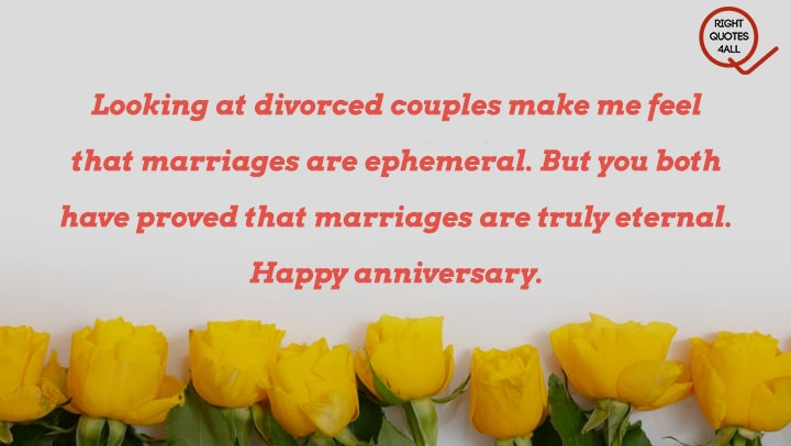 Message Wishes To a Couple on anniversary